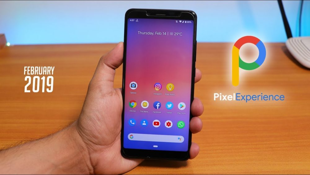 How To Install Pixel Experience ROM For Redmi Note 5 Pro - DroidFunk