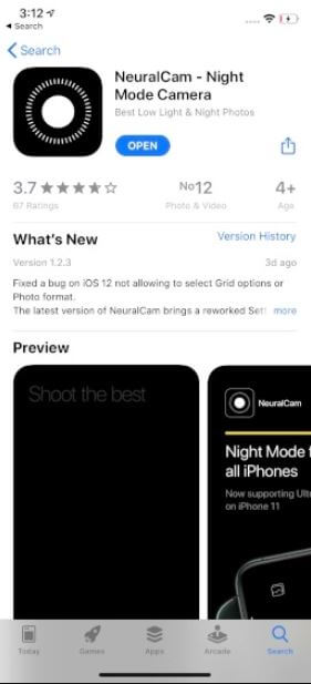 How to Click Night Mode Photos on Iphones X, XR, XS