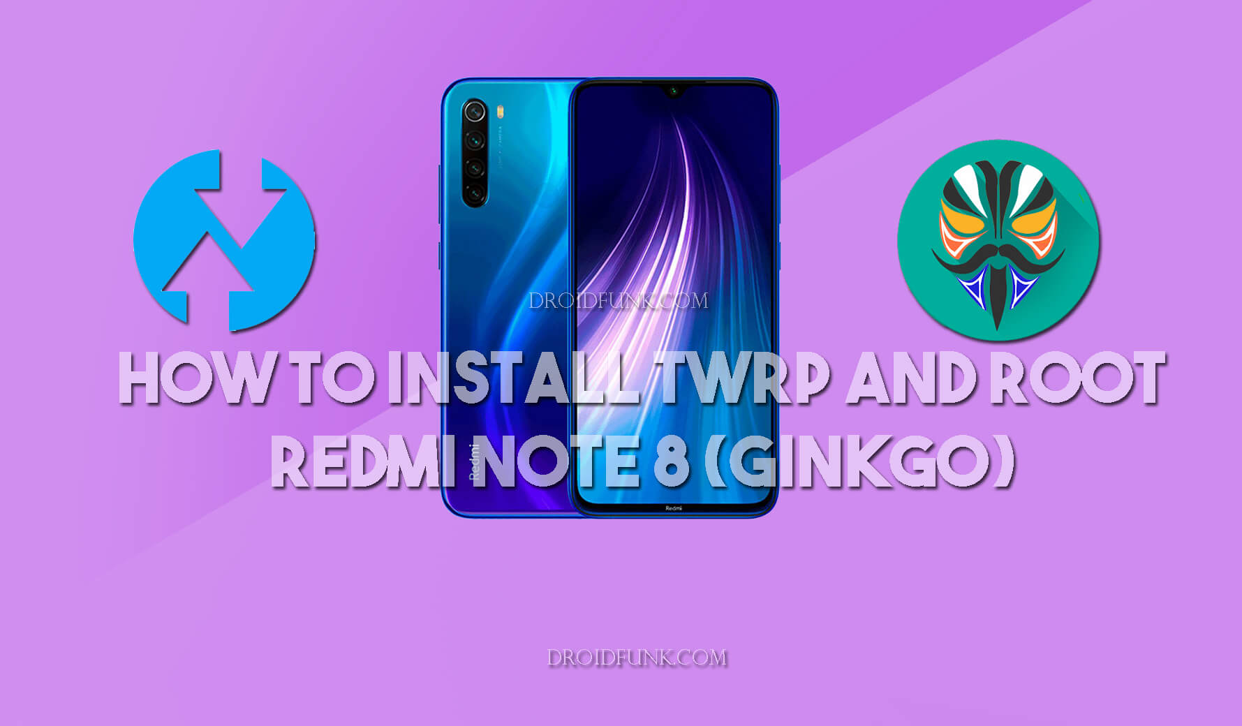 How to Install TWRP in Redmi Note 8