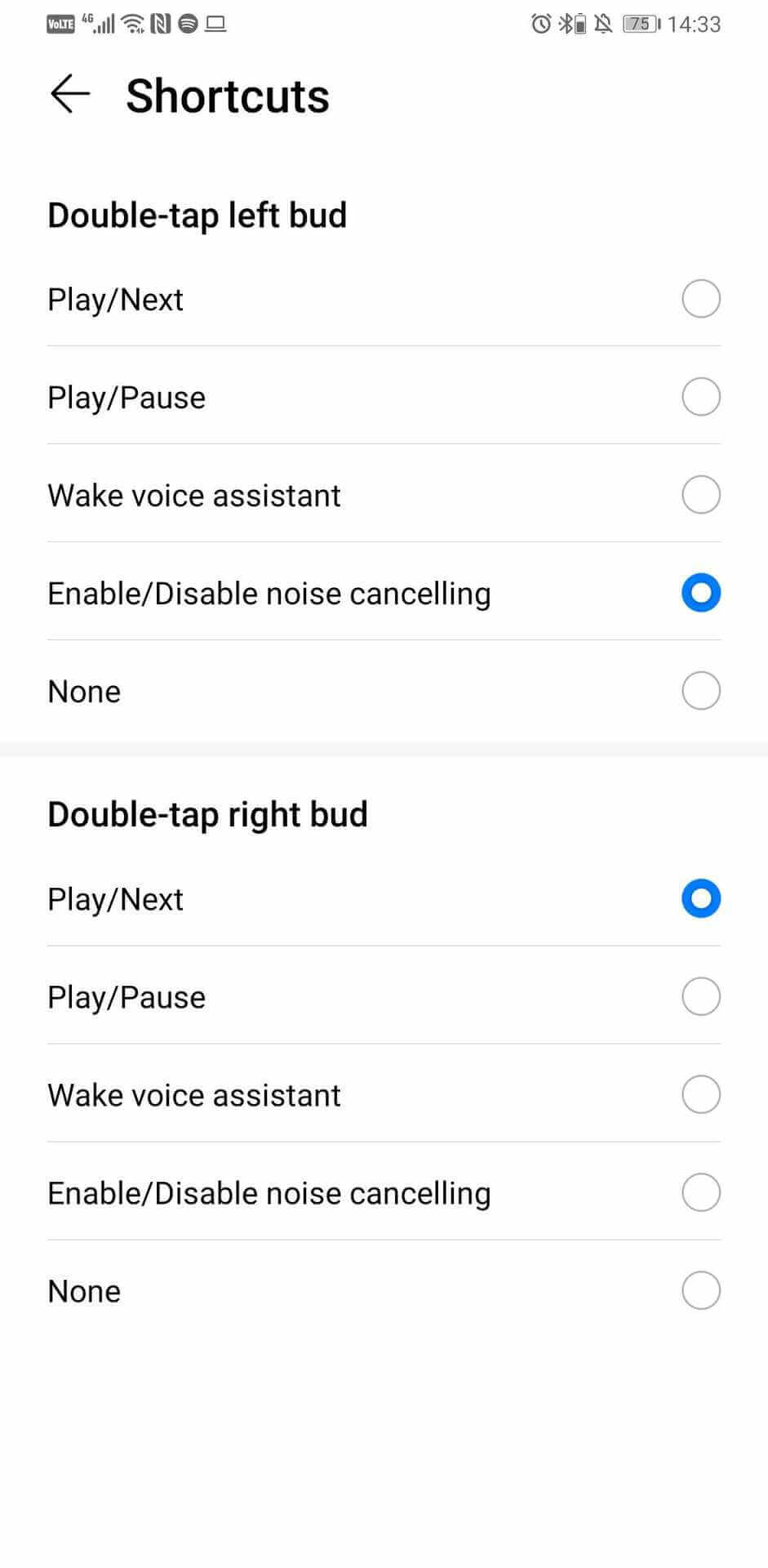 How to Enable active noise cancellation on Huawei FreeBuds 3
